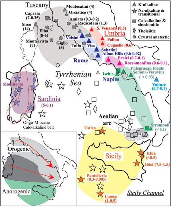 province-magmatiche-italiane-vulcani