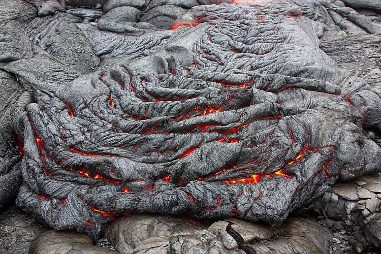 lava-Pahoehoe